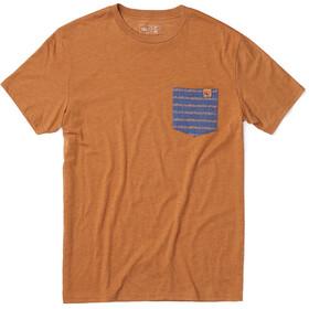 tentree Renfrew Pocket T-Shirt Men Brown Sugar